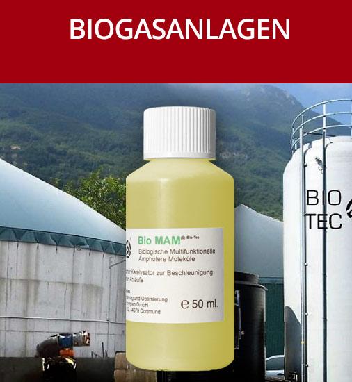 Biogas-Anlagen Optimierung